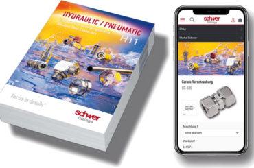 Nový hlavní katalog Schwer Fittings</br>Kompaktní spojovací potrubní technika</br>z ušlechtilé oceli