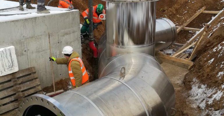 Modernizace úpravny vody Želivka