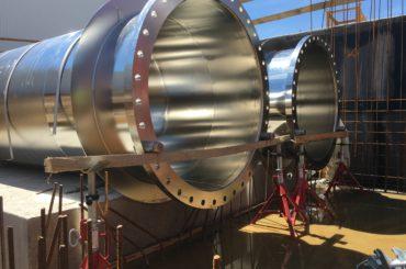Modernizace úpravny vody Želivka</br>Speciální požadavky na drsnost</br>povrchu nerezové oceli III