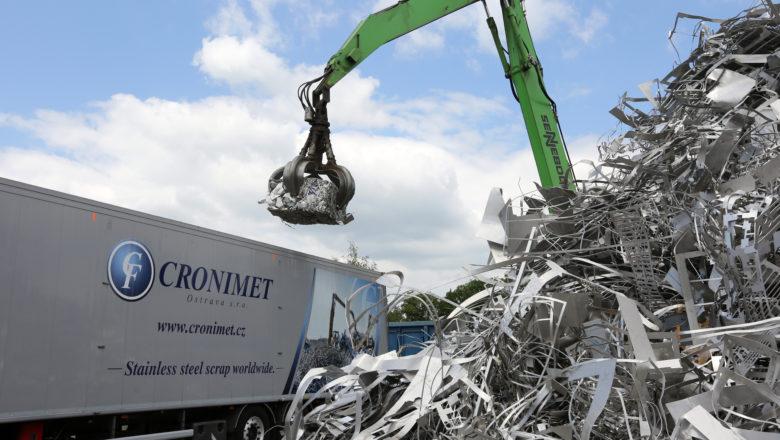 CRONIMET Ostrava – lídr na trhu recyklace nerezového odpadu