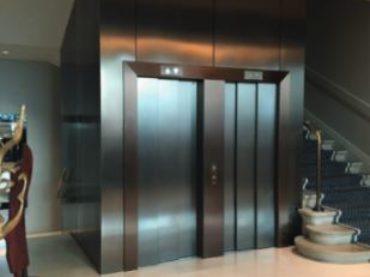 Estetika v oblasti stavby výtahů<br/>Nový povklak Cerno Tex pro povrchy z ušlechtilé oceli